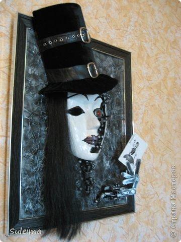 Маски Ассамбляж Маска в стиле стимпанк Joker  фото 3