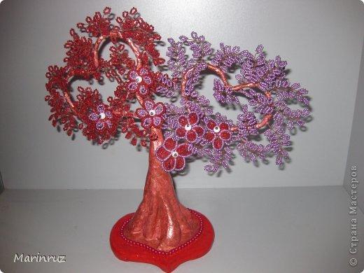 Дерево любви из бисера мастер класс с пошаговым