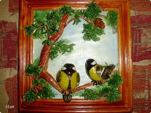 Поделки своими руками картина с птицами