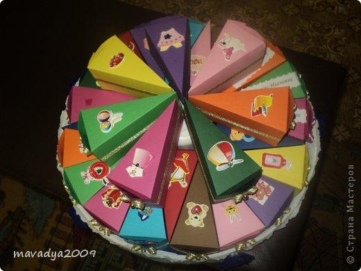 Торт поделка своими руками в детский сад из