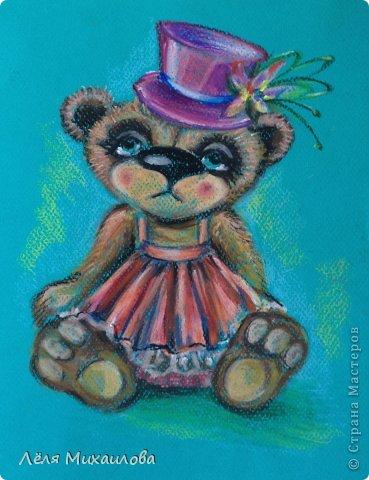 Вдохновленная мастерицами, которые создают великолепных мишек Тедди, родила такую девочку. На подвиг по шитью я еще не созрела. А на портрет - пожалуйста.  фото 1