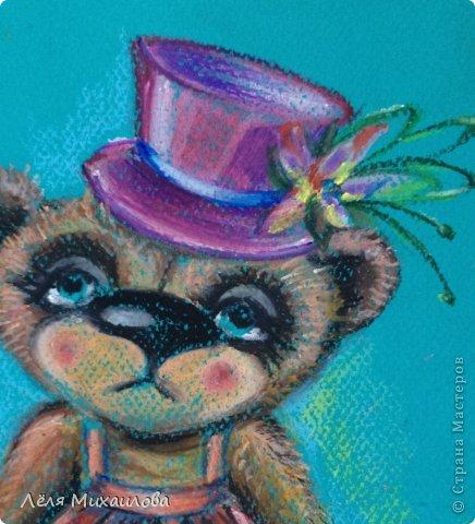Вдохновленная мастерицами, которые создают великолепных мишек Тедди, родила такую девочку. На подвиг по шитью я еще не созрела. А на портрет - пожалуйста.  фото 4
