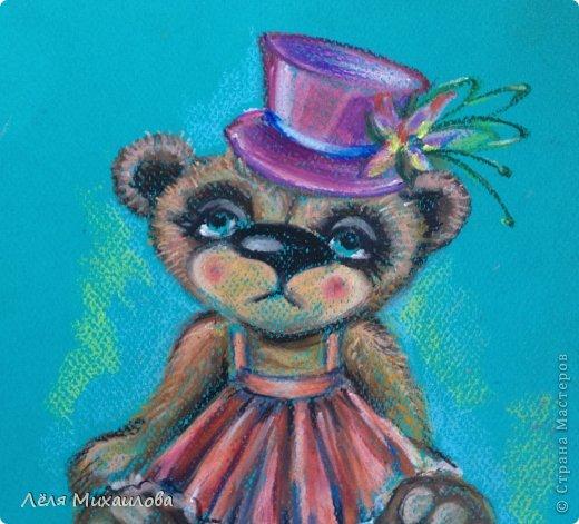 Вдохновленная мастерицами, которые создают великолепных мишек Тедди, родила такую девочку. На подвиг по шитью я еще не созрела. А на портрет - пожалуйста.  фото 2