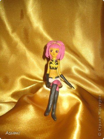 Как сделать платье из пластилина кукле