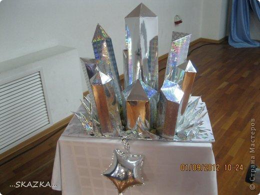 Как сделать кристалл из бумаги