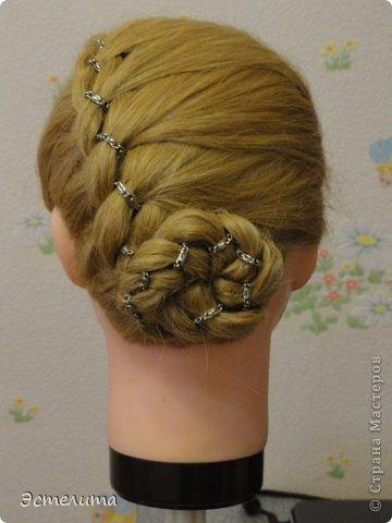 Мастер-класс Прическа Плетение мини мк Волосы фото 8