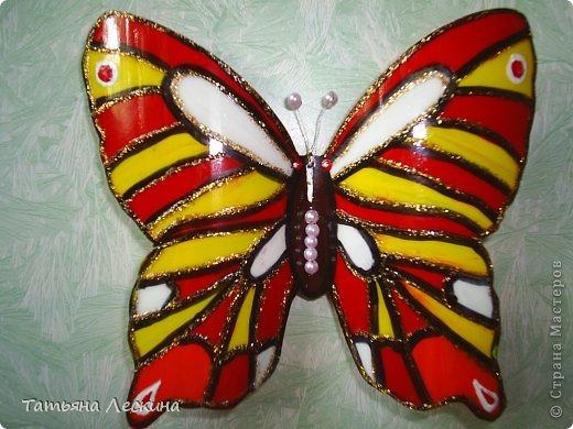 Бабочки своими руками из пластиковых