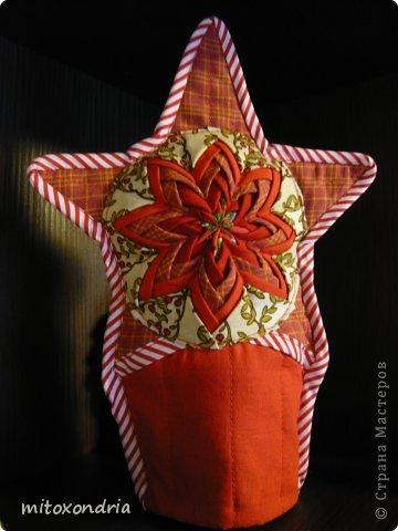 """Вот такую красоту я увидела в блоге Татьяны Максименко """" Вечерние посиделки"""" и не смогла устоять! Срочно пришлось воплотить в жизнь звезду! Мстер-класс здесь http://vechernie-posidelki.blogspot.ru/2012/11/stars-for-christmas-tree.html фото 4"""