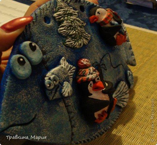 Поделка изделие Лепка Первая рыбка Тесто соленое фото 2