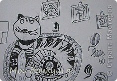 На уроке ИЗО детки рисовали с Татьяной Александровной таких чудесных котов. фото 4