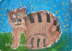 На уроке ИЗО детки рисовали с Татьяной Александровной таких чудесных котов. фото 3