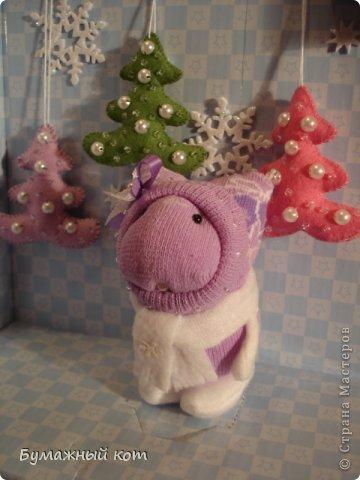 Поделка изделие Новый год Шитьё Ёлочные игрушки из фетра часть вторая Фетр фото 10