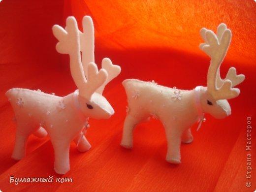Поделка изделие Новый год Шитьё Ёлочные игрушки из фетра часть вторая Фетр фото 7