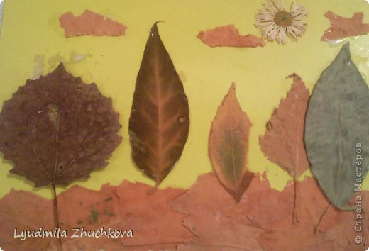 Картина панно рисунок Праздник осени Аппликация флористика Осенний пейзаж Материал природный фото 4