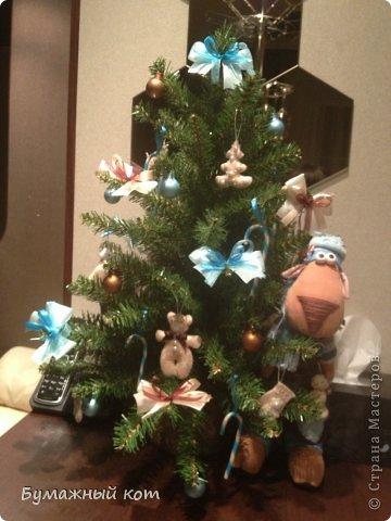 Поделка изделие Новый год Шитьё Ёлочные игрушки из фетра часть вторая Фетр фото 11