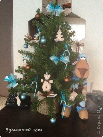 Поделка изделие Новый год Шитьё Ёлочные игрушки из фетра часть вторая Фетр фото 12