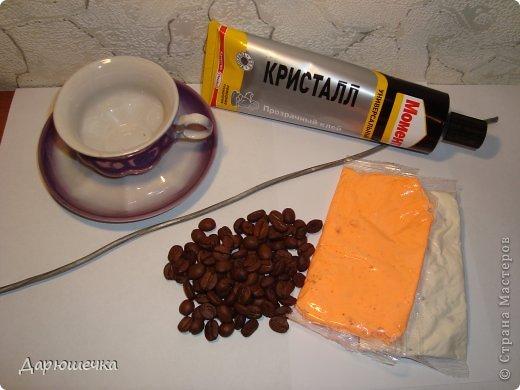 Поделка изделие Моделирование МК летающей кофейной чашки Клей Кофе Проволока фото 2
