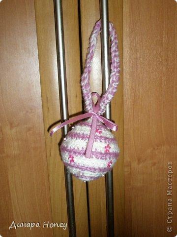 Вязание крючком - Вязаные шарики - елочные игрушки.
