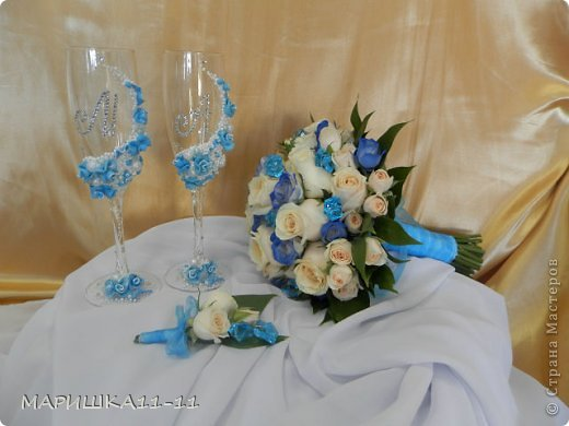 Декор предметов Свадьба очень очень много фото фото 1