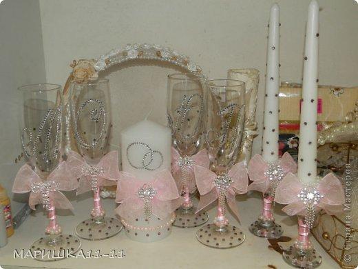 Декор предметов Свадьба очень очень много фото фото 7