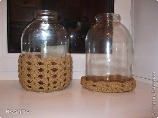 Ажурные шкатулки и конфетницы связанные крючком из шпагатной веревки .Шкатулку можно применять для всяких мелочей.Вяжется очень легко и просто Схемы простые. фото 4
