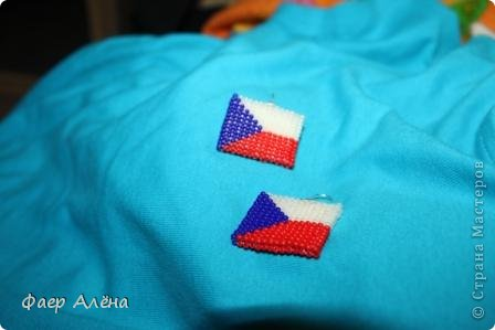 """Привет, жители СМ! Мне заказали серьги в виде флага Англии для любительницы этой страны. Т.к. я не """"дружу"""" с полимерной глиной, начала искать другие варианты. И вбив в поиске, нашла) Идея отсюда http://fotki.yandex.ru/users/nataplacebo/view/236542/?page=0 Спасибо автору! фото 9"""