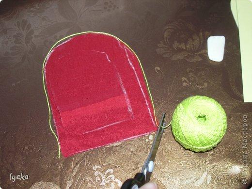 Попробую рассказать, как сшить такой чемоданчик. фото 4