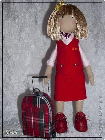 Попробую рассказать, как сшить такой чемоданчик. фото 21