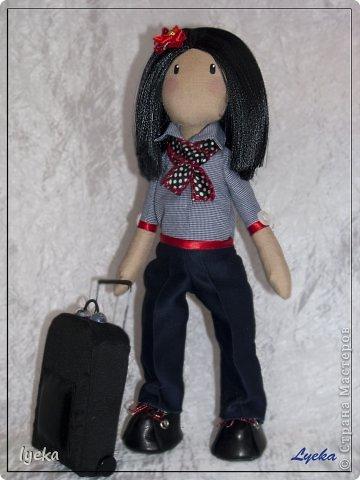 Попробую рассказать, как сшить такой чемоданчик. фото 22