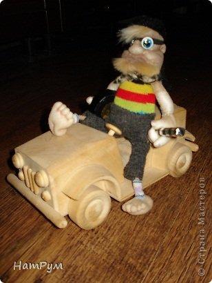 Очереднщй оберег-подвеска в машину знакомой. как говорится: ни гвоздя тебе, ни жезла. фото 2