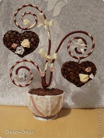 Кофейные топиарии-валентинки: супер много идей для вдохновения. Обсуждение на LiveInternet - Российский Сервис Онлайн-Дневников