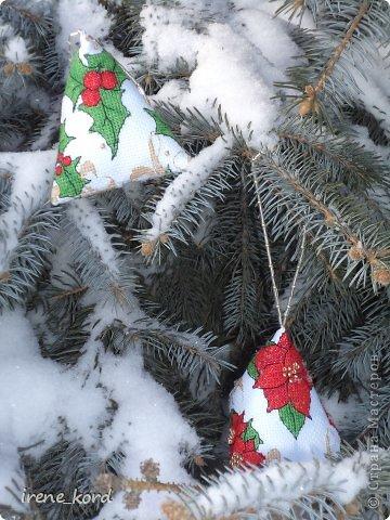 Перед Новым Годом возникло у меня желание украсить свою елочку вышитыми игрушками и воплотилось оно вот такими новогодними берлинго от нежно любимой мной Фаби Рейлли. фото 1