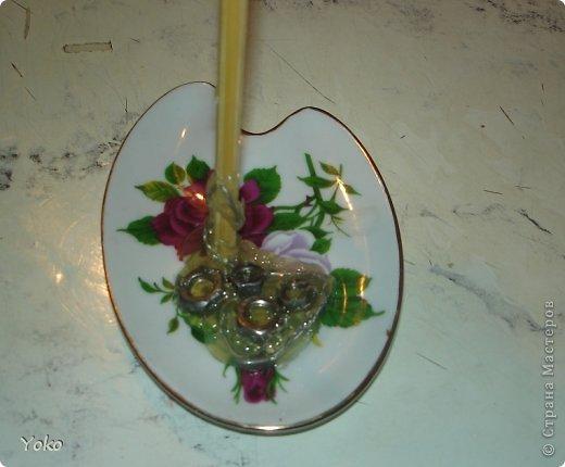 Поделка изделие Моделирование Летающая чашка+мини МК Клей Кофе Проволока Продукты пищевые фото 10