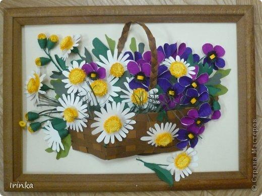 Конверт для денежки нужно было сделать по-быстренькому, поэтому цветы брала готовые, сегодня отправится к имениннице...... фото 3