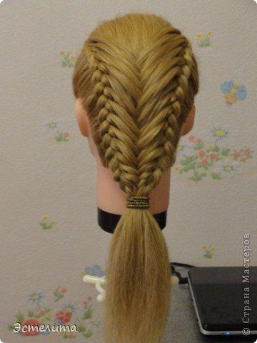 Мастер-класс Прическа Плетение МК по комбинированному плетению Волосы фото 1