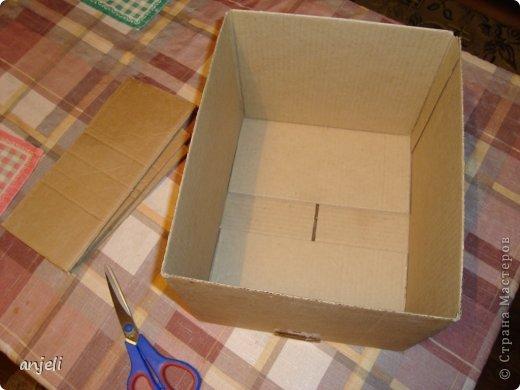 Декоративная коробка для хранения своими руками