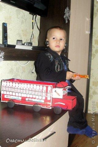 Киндер-грузовичок в подарок фото 1
