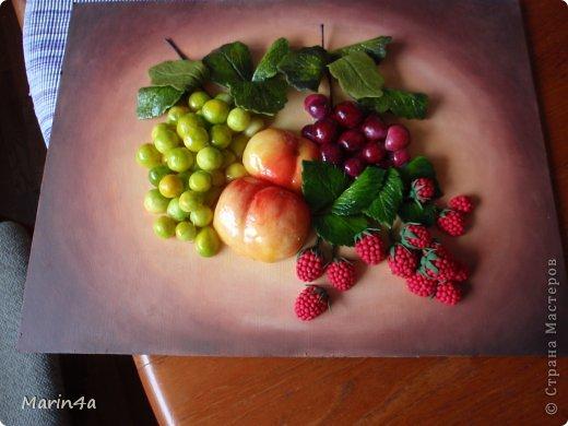 Как сделать картину с цветами из холодного фарфора