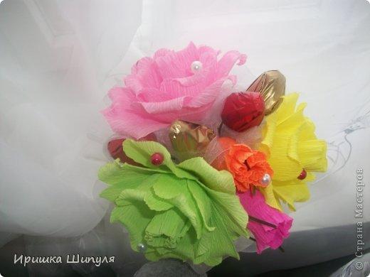Милый и жизнерадостный букетик в холодную пору года)  фото 1