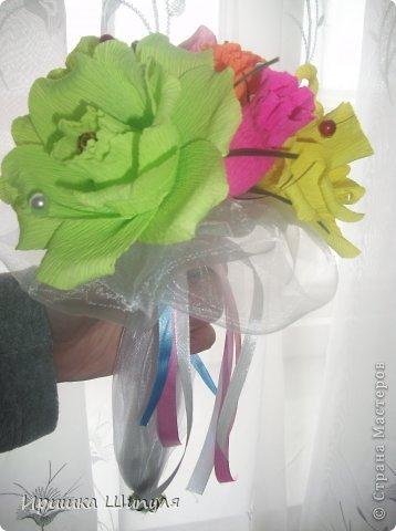 Милый и жизнерадостный букетик в холодную пору года)  фото 3