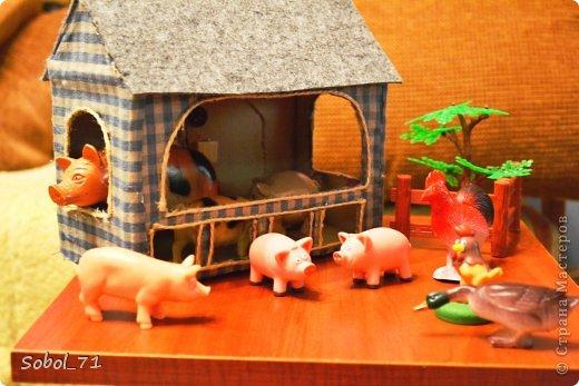 Как сделать игрушечную ферму