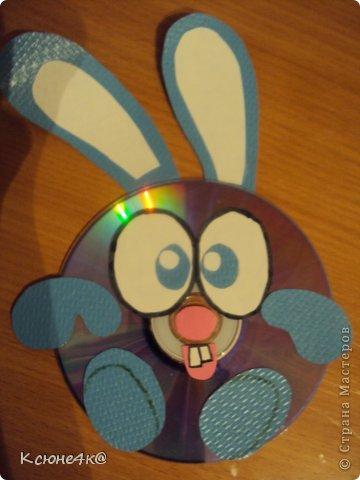 Поделки из дисков для детей смешарики 70