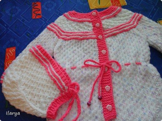 Что связать новорожденной девочке