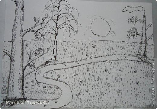 Здравствуй Дорогие Мастера! Хочу на этот раз Вам представить мои рисунки выполненные в графике, которые рисовала на парах...  Натюрморт. Выполненная карандашом.  фото 5