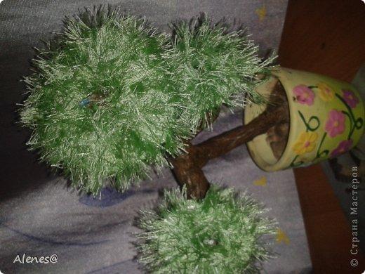 Декоративные ветки из проволоки и нитей. Бонсаи своими руками!)Декоративные.Часть первая.