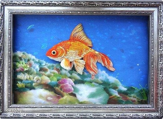 Золотая рыбка.. Обсуждение на LiveInternet - Российский ...  Золотой Ключ Рисунок