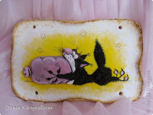 Поделка изделие 23 февраля 8 марта День рождения Лепка Мыши и коты   Рыбки и  цветы -   Тесто соленое фото 49
