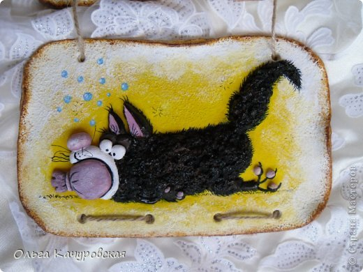 Поделка изделие 23 февраля 8 марта День рождения Лепка Мыши и коты   Рыбки и  цветы -   Тесто соленое фото 51