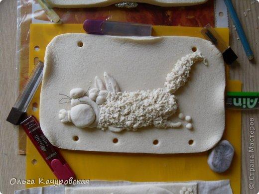 Поделка изделие 23 февраля 8 марта День рождения Лепка Мыши и коты   Рыбки и  цветы -   Тесто соленое фото 56