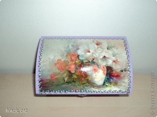 Коробочка для бижутерии фото 1